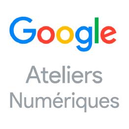 Logo ateliers numériques Google
